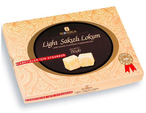 LIGHT MASTIC TURKISH DELIGHT