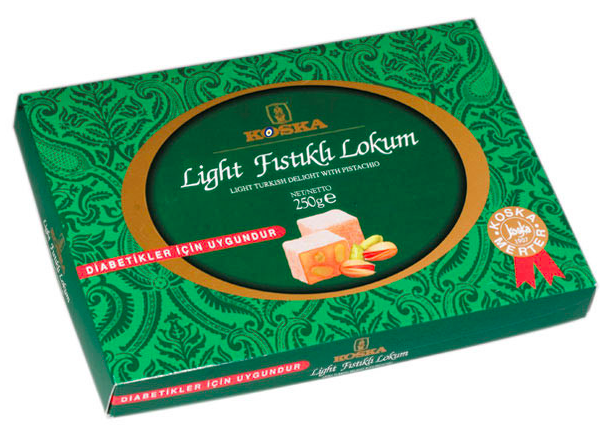LIGHT PISTACHIO TURKISH DELIGHT
